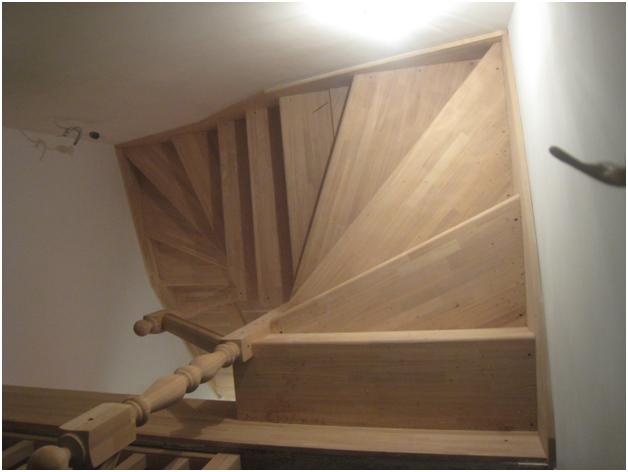 Пример монтажа лестницы - Азбука Лестниц